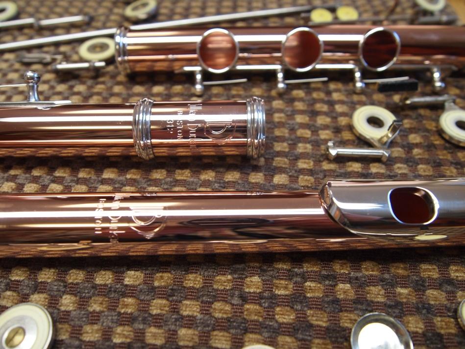 Gold Burkhart Flute